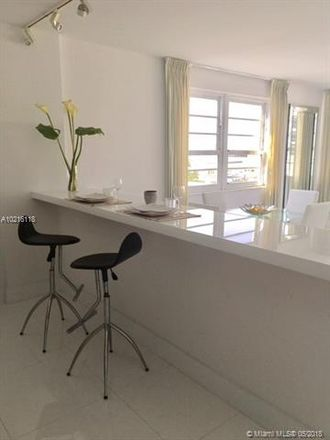 Rent this 1 bed apartment on Miami Beach in South Beach, FL