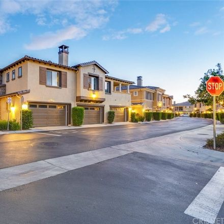 Rent this 3 bed townhouse on 23902 Brescia Dr in Valencia, CA