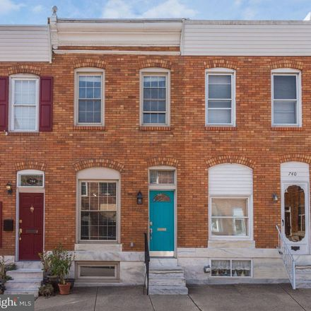 Rent this 3 bed townhouse on 742 South Decker Avenue in Baltimore, MD 21224