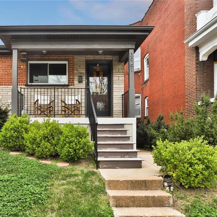 Rent this 3 bed house on 3961 Botanical Avenue in City of Saint Louis, MO 63110