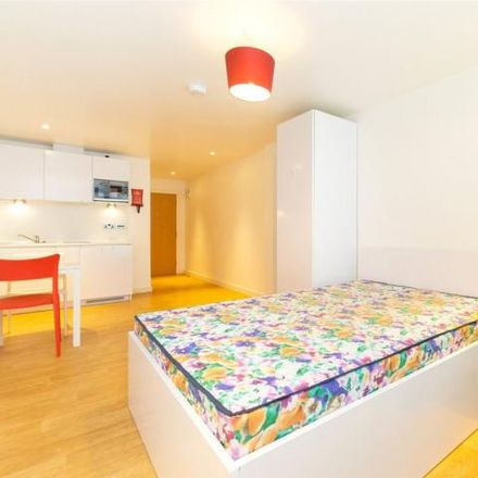 Rent this 1 bed apartment on Yorkshire Cricket Centre in St. Michael's Lane, Leeds LS6 3RY