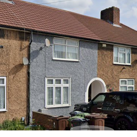 Rent this 3 bed house on Becontree Platform 1 in Sheppey Road, London RM9 4LH