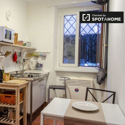 Rent this 1 bed apartment on Vicolo dei Tabacchi in 00153 Rome RM, Italy