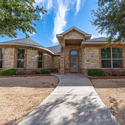 Rent this 4 bed apartment on 4703 Yearwood Drive in Midland, TX 79707