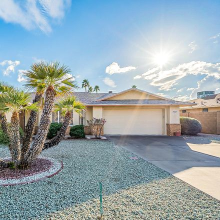 Rent this 2 bed house on 13103 West Lyric Drive in Sun City West, AZ 85375
