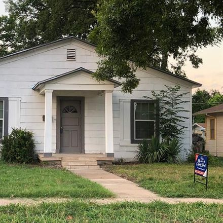 Rent this 3 bed house on 816 West Pafford Street in Fort Worth, TX 76110