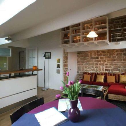Rent this 1 bed apartment on Montée du Gourguillon