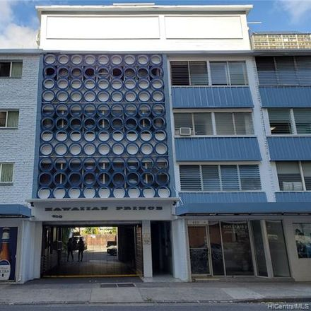 Rent this 1 bed condo on Hawaiian Prince Apartments in 410 Nahua Street, Honolulu
