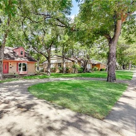 Rent this 4 bed house on 3435 Boulder Drive in Dallas, TX 75233