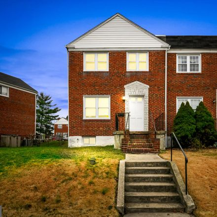 Rent this 3 bed townhouse on 1210 Deanwood Road in Towson, MD 21234