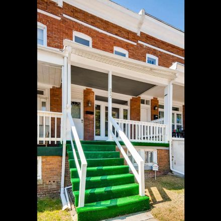 Rent this 3 bed townhouse on 837 Belgian Avenue in Baltimore, MD 21218
