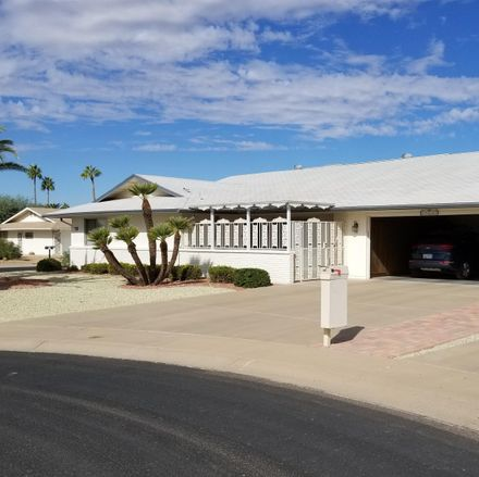 Rent this 3 bed house on 17639 North 131st Drive in Sun City West, AZ 85375