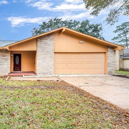 Rent this 4 bed house on 18111 Tall Cypress Drive in Harris County, TX 77388