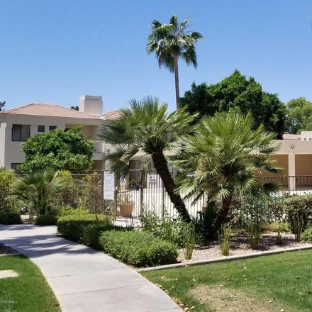 Rent this 2 bed townhouse on 8270 North Hayden Road in Scottsdale, AZ 85258