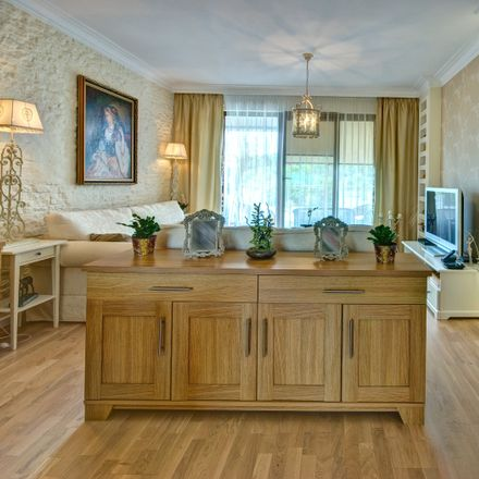 Rent this 1 bed apartment on Marszałka Ferdynanda Focha in Gdańsk, Polonia