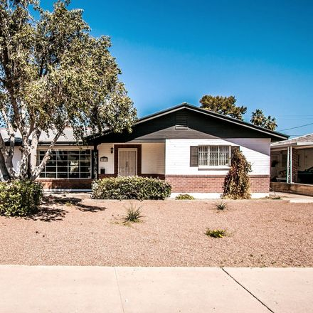 Rent this 3 bed house on 1862 East Minnezona Avenue in Phoenix, AZ 85016