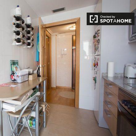 Rent this 2 bed apartment on Casa Cuna Santa Isabel in Plaça de les Tretze Roses, 46014 Valencia