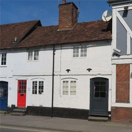 Rent this 1 bed house on Mead Lane (opp) in West Street, Waverley GU9 7EA