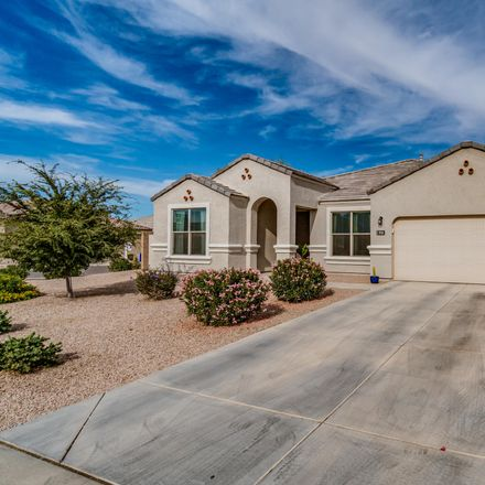 Rent this 3 bed house on 910 West Santa Gertrudis Trail in San Tan Valley, AZ 85143