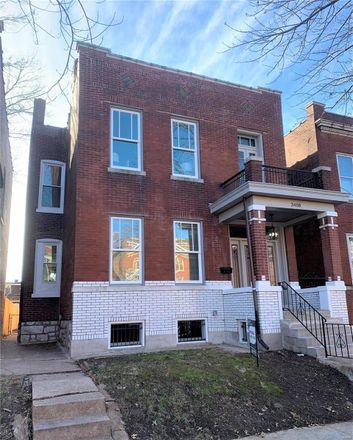Rent this 3 bed house on Hartford St in Saint Louis, MO