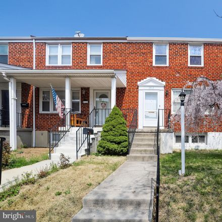 Rent this 3 bed townhouse on 4912 Gateway Terrace in Arbutus, MD 21227
