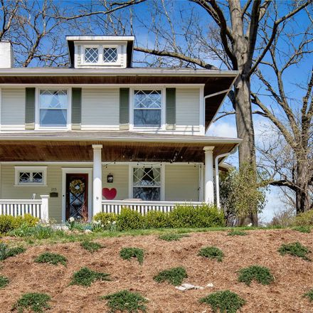 Rent this 4 bed house on 215 Portland Terrace in Webster Groves, MO 63119