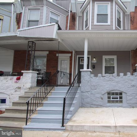 Rent this 3 bed townhouse on 1454 North 56th Street in Philadelphia, PA 19131