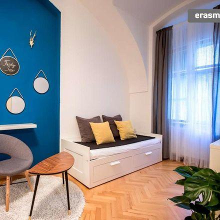 Rent this 1 bed apartment on U Zlatého lva in Zámecké schody, 118 00 Prague