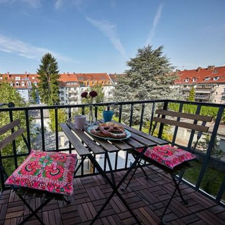 Rent this 1 bed apartment on Philippstraße 29 in 76185 Karlsruhe, Germany