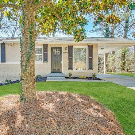 Rent this 3 bed house on 3566 Fairlane Drive Northwest in Atlanta, GA 30331