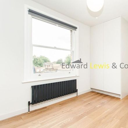Rent this 1 bed apartment on Amhurst Road in London N16 7UY, United Kingdom
