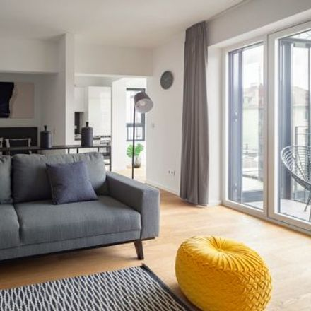 Rent this 1 bed apartment on Franz-Joseph-Straße 29 in 80801 Munich, Germany