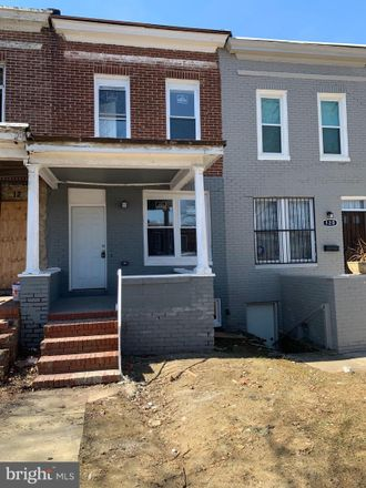 Rent this 3 bed townhouse on 122 South Hilton Street in Baltimore, MD 21229