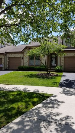 Rent this 2 bed townhouse on 4567 Olmstead Drive in Hoffman Estates, IL 60192