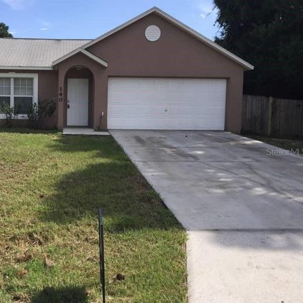 Rent this 3 bed house on 140 District Street Southeast in Palm Bay, FL 32909