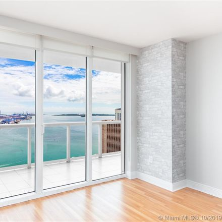 Rent this 2 bed condo on 50 Biscayne Boulevard in Miami, FL 33132