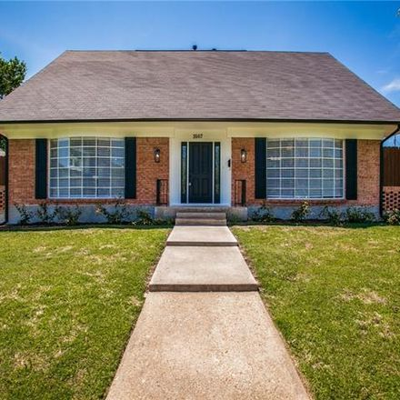 Rent this 4 bed house on 3507 Cripple Creek Drive in Dallas, TX 75224