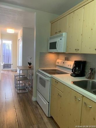 Rent this 1 bed condo on 7904 West Drive in North Bay Village, FL 33141