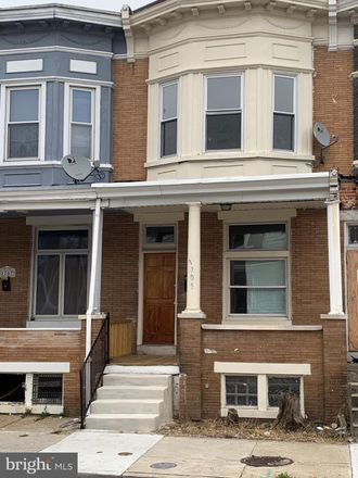 Rent this 3 bed townhouse on 1705 Poplar Grove Street in Baltimore, MD 21216