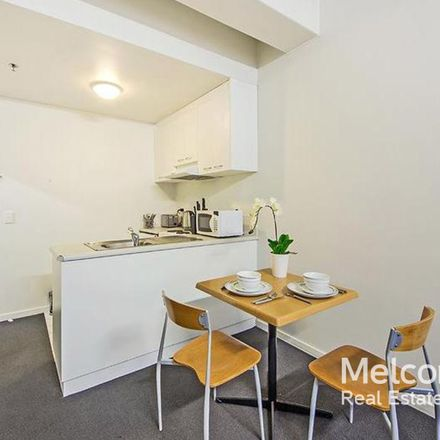 Rent this 1 bed apartment on 712/408 Lonsdale  Street