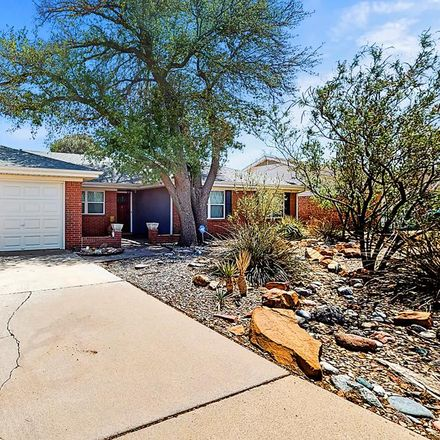 Rent this 3 bed house on 3323 Providence Drive in Midland, TX 79707