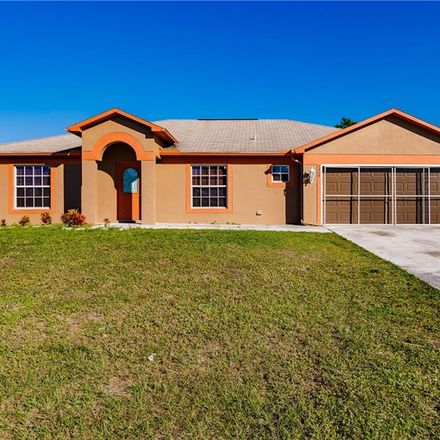 Rent this 3 bed house on 5404 2nd Street West in Lehigh Acres, FL 33971