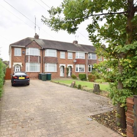 Rent this 3 bed house on Hipswell Highway in Coventry CV2 5FJ, United Kingdom