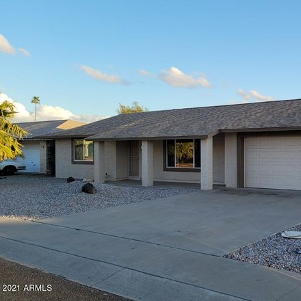 Rent this 2 bed house on 10733 West Pineaire Drive in Sun City, AZ 85351