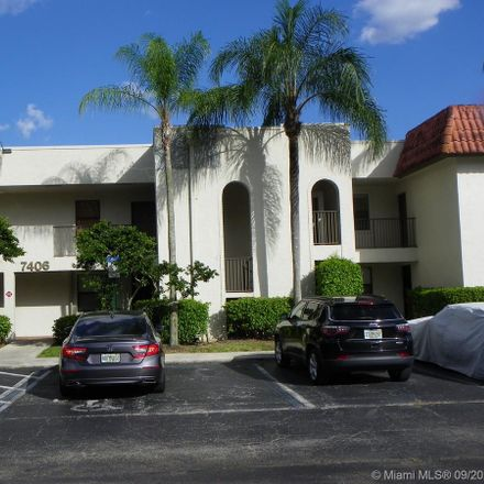 Rent this 2 bed condo on 7406 Woodmont Terrace in Tamarac, FL 33321
