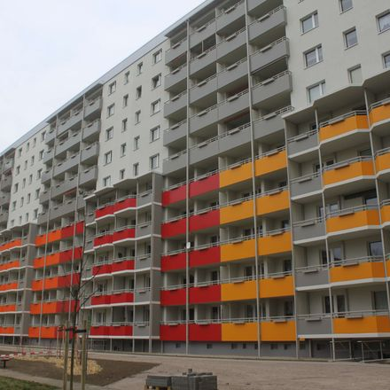 Rent this 1 bed apartment on Albert-Schweitzer-Straße 11 in 39126 Magdeburg, Germany