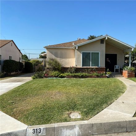 Rent this 3 bed house on 313 North Wilcox Avenue in Montebello, CA 90640