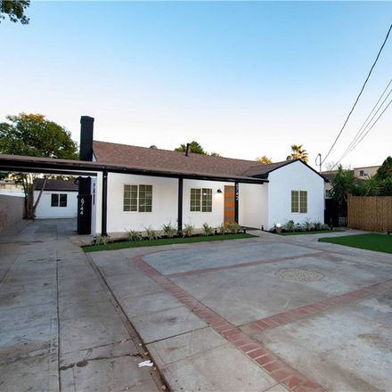 Rent this 6 bed house on 6742 Sylmar Avenue in Los Angeles, CA 91405