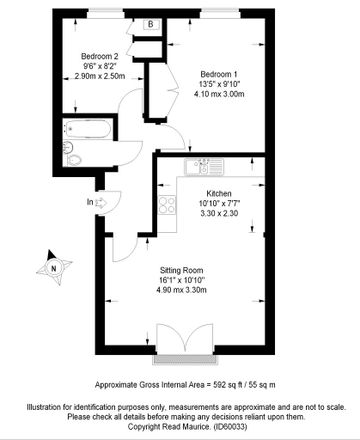Rent this 2 bed apartment on Siskin Drive in Cheltenham GL51, United Kingdom
