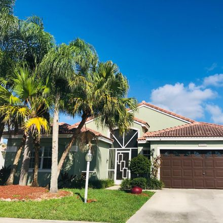 Rent this 3 bed house on 9711 Tavernier Dr in Boca Raton, FL